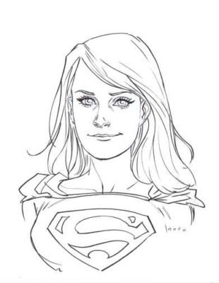 Drawn supergirl Best women drawers  Robotics: