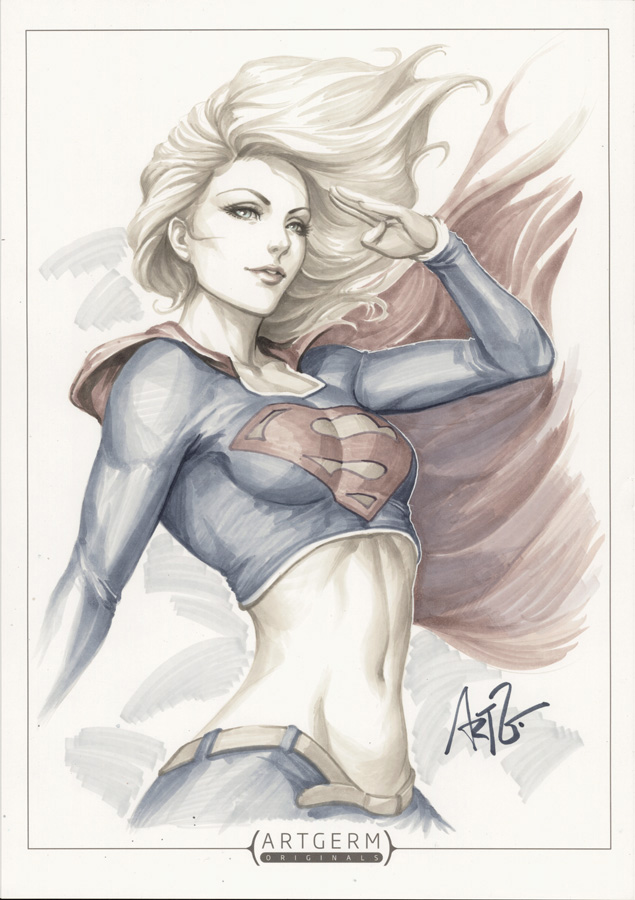 Drawn supergirl Favorites Supergirl Favorites Drawn 1