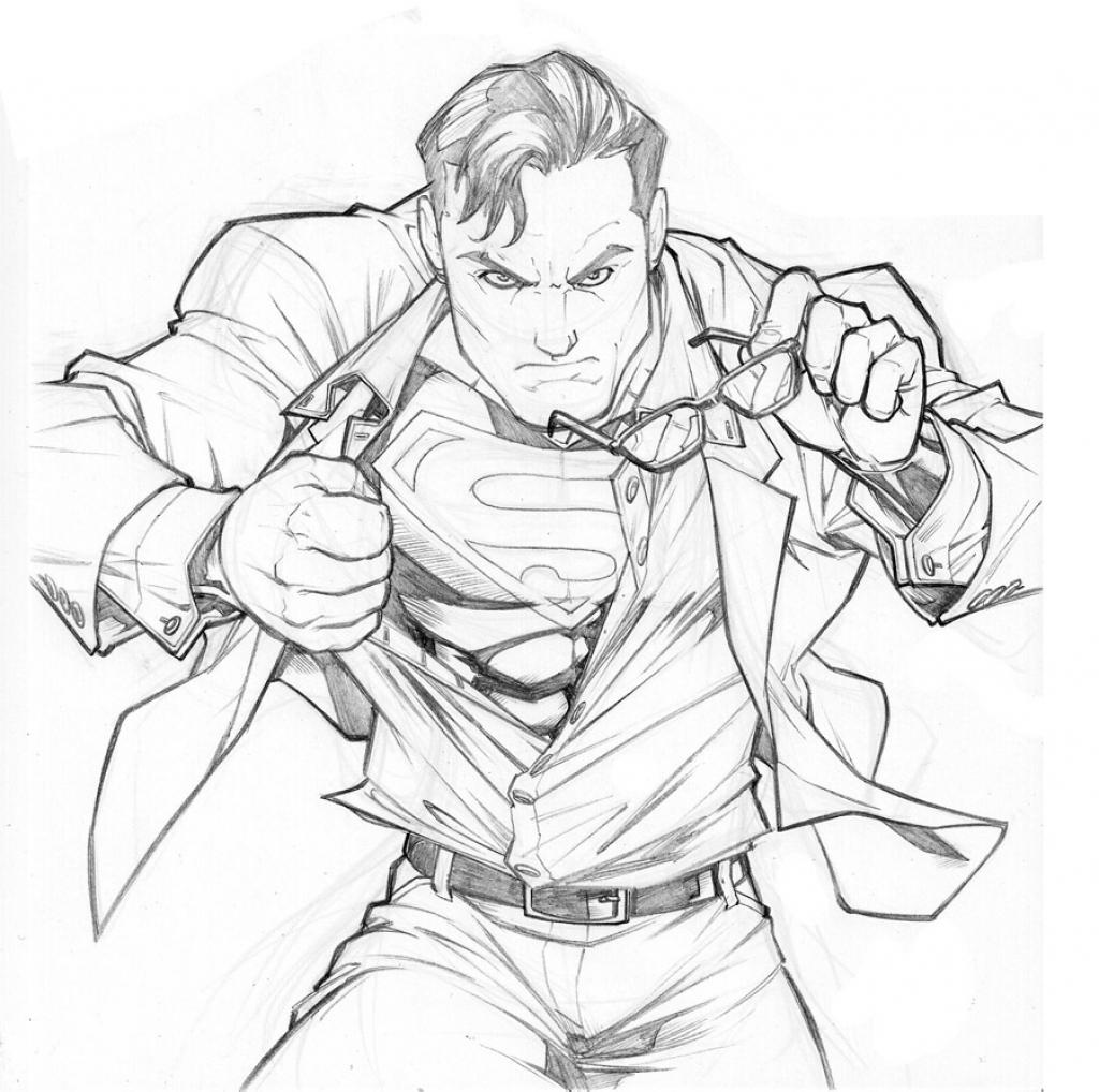 Drawn superman Pics Of Superman Of Deviantart