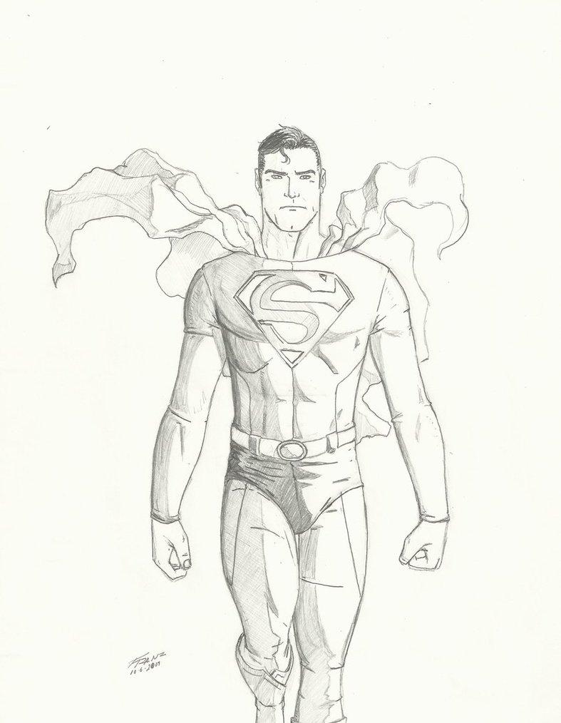 Drawn superman DeviantArt 06 09 by 10