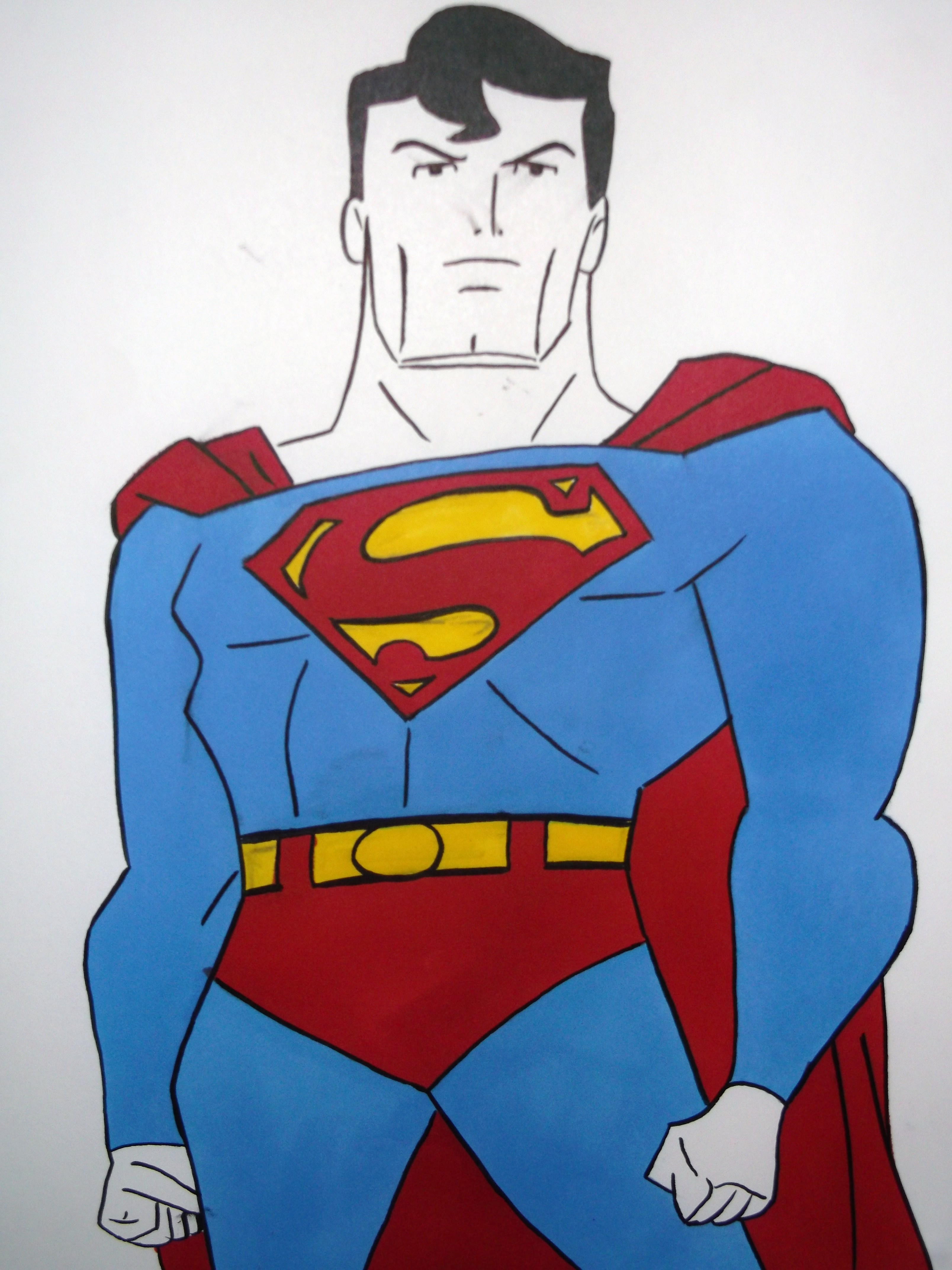 Drawn superman cartoon character Best ALL How Draw Download