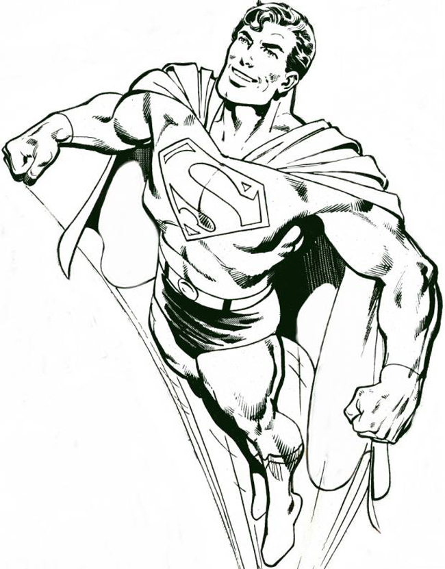 Drawn superman comic art Mifty Artwork 5 Top Artists