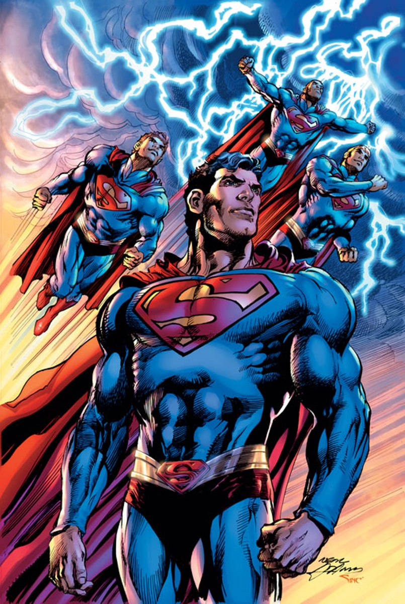 Drawn superman comic art Greatest Artists SUPERMAN Time of