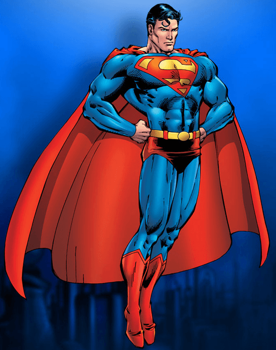 Drawn superman crayon Easy step  by How