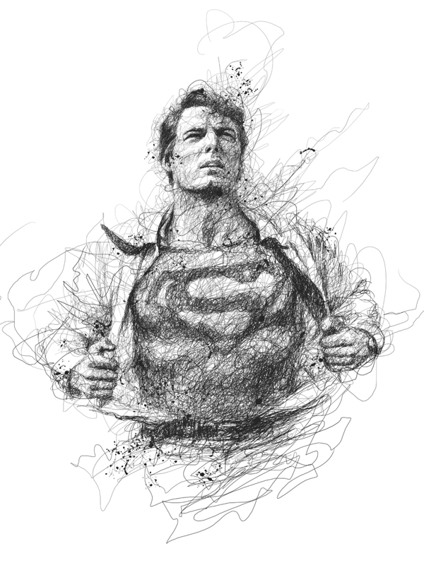 Drawn superman crayon Pure Superman this with especially