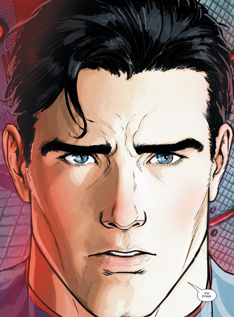 Drawn superman dc universe Rebirth Online Universe Superman Forums