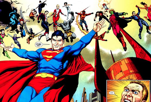 Drawn superman dc universe Spoilers It this Legion Guide