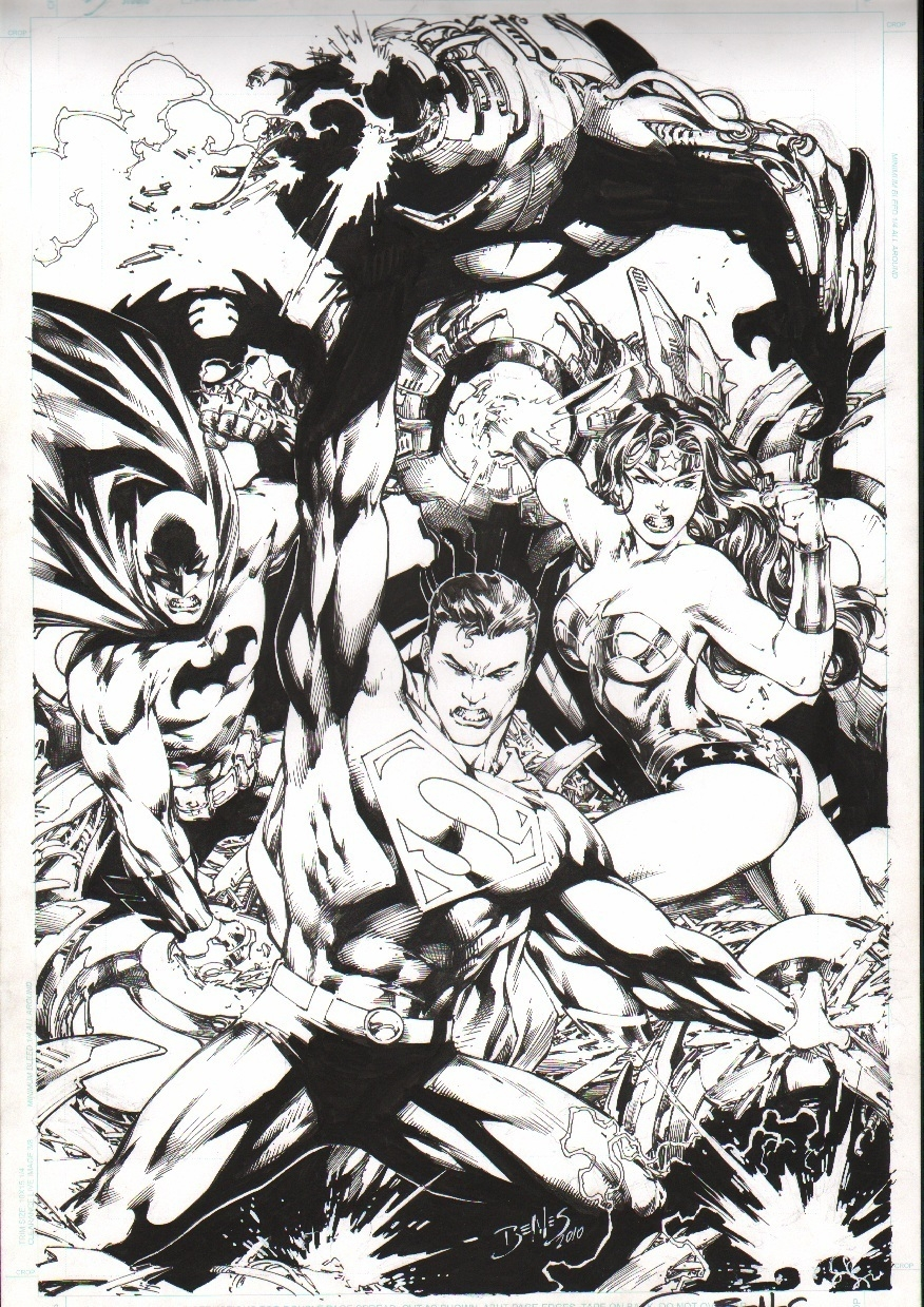 Drawn superman dc universe Benes Online Benes Universe Ed