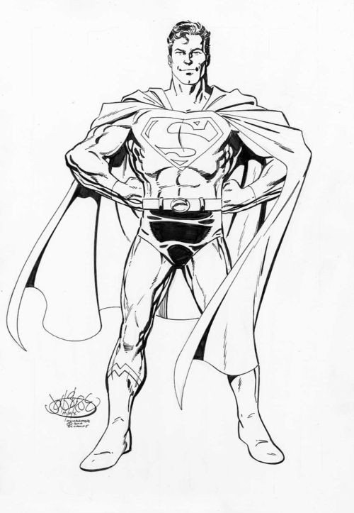 Drawn superman dc universe By on images Superman Pinterest