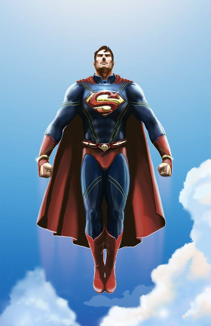 Drawn superman dc universe This on DC images best