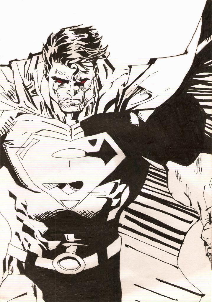 Drawn superman jim lee Soulveiner Superman Superman lee on