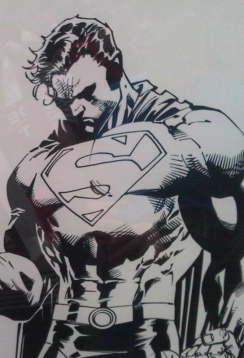 Drawn superman jim lee : I'll SketchDaily Lee 18th