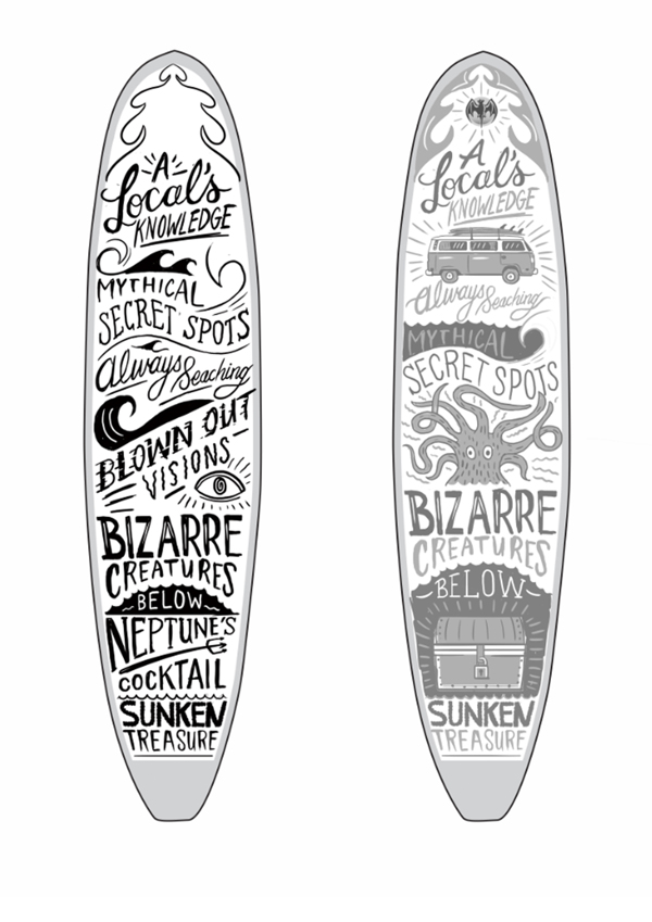 Drawn surfboard Graphics Google con funny Buscar