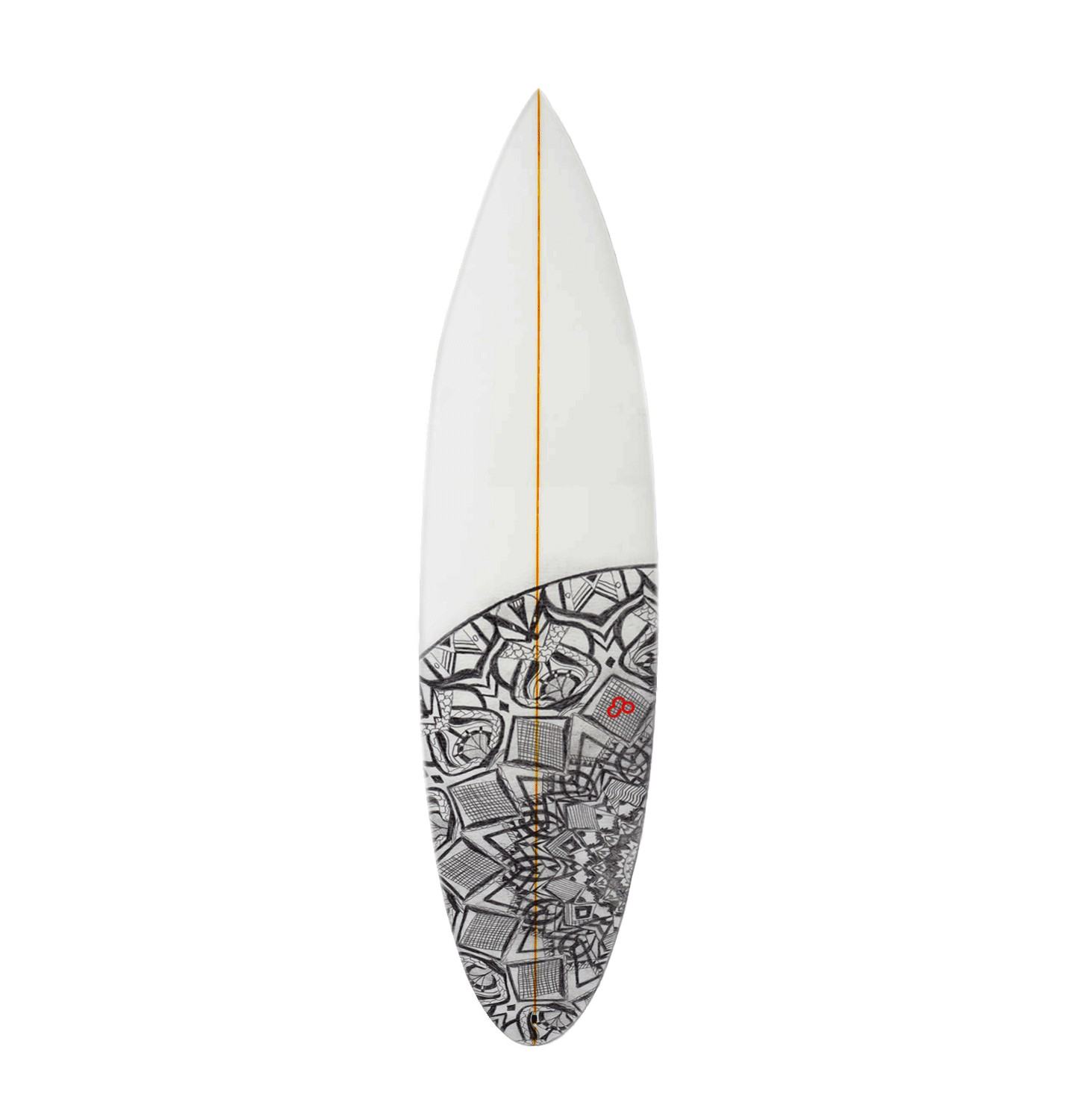 Drawn surfboard Hand your design drawn surfboard