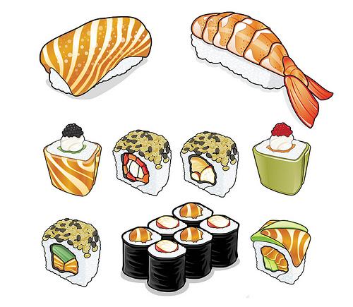 Drawn sushi illustration Pesquisa Pinterest Google Pesquisa drawing
