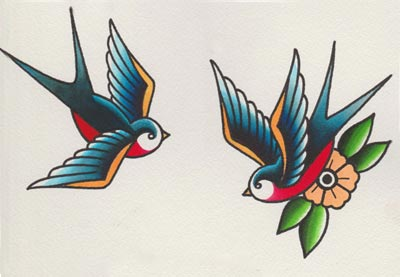 Drawn swallow  Draw Swallows How Style