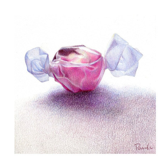 Drawn sweets pencil drawing ArtPencil Pencil Taffy  Neapolitan
