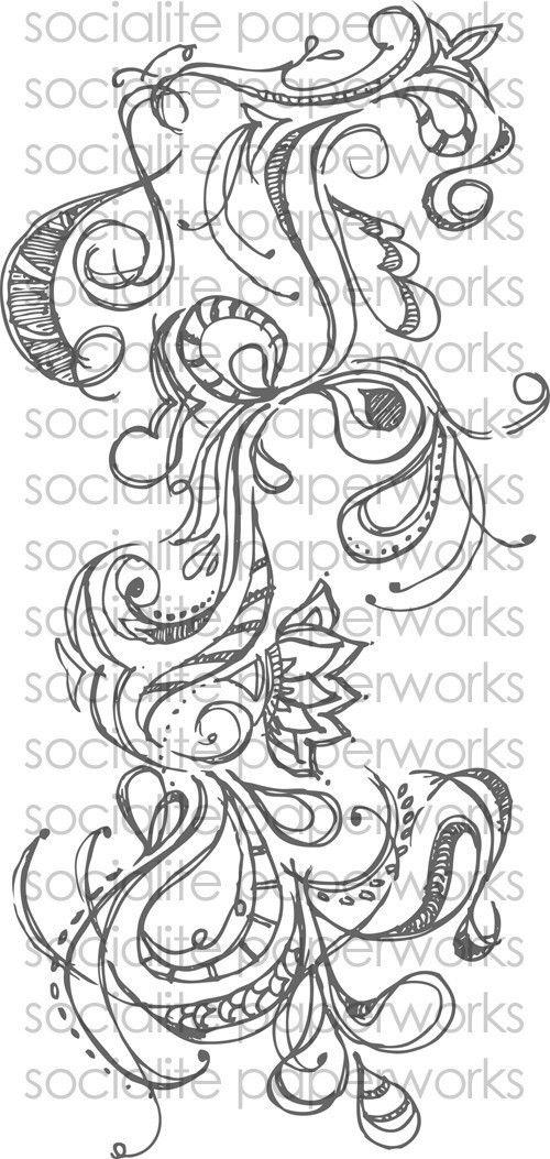 Drawn swirl artistic 38 Flourish best Swirl Vector