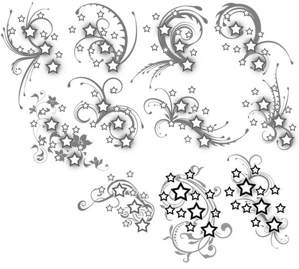 Drawn swirl girly Swirl Google Scroll tattoo Image