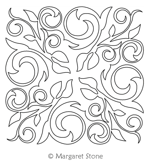 Drawn swirl girly Girly Stone Swirl Designs Block
