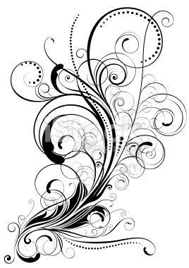 Drawn swirl line Ideas swirls art tattoos Line