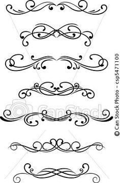 Drawn swirl line Fonts fun Mais new font