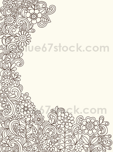 Drawn swirl paisley Hand Swirls and Doodle by