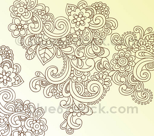 Drawn swirl paisley By Swirls and Flickr Doodle
