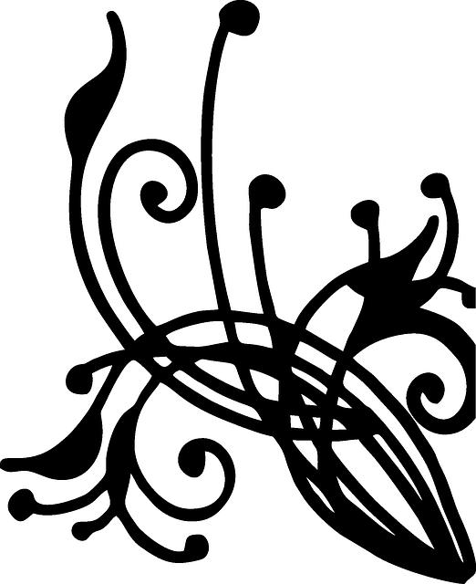 Drawn swirl silhouette Art digital  found pictures