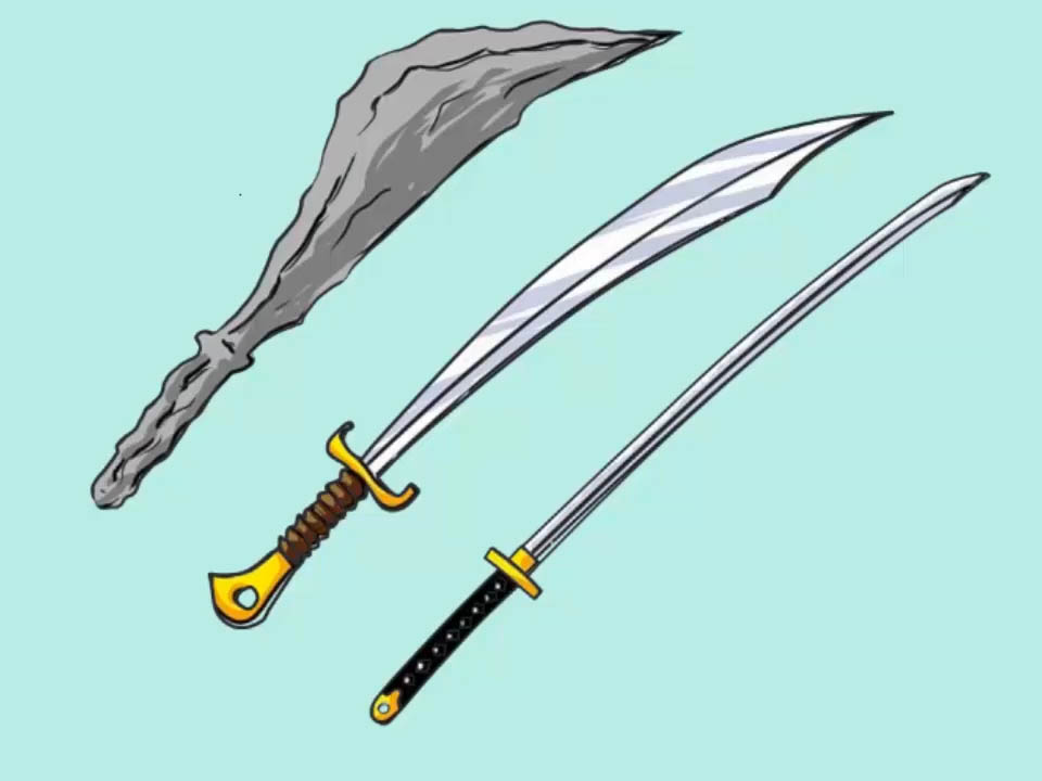 Drawn sword 12 wikiHow Draw a