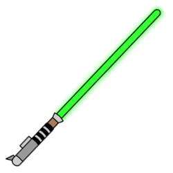 Drawn star wars lightsaber How a Star a to