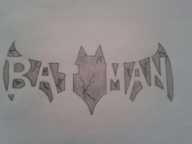 Drawn symbol batman Ideas a DC How Cool