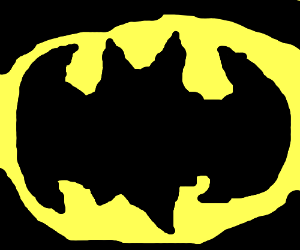 Drawn symbol batman Symbol Batman (drawing Batman Void)