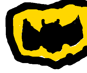 Drawn symbol batman Symbol Poorly Gotham danger Batman