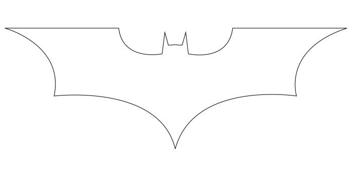 Drawn symbol batman Batman Batman Central How logo