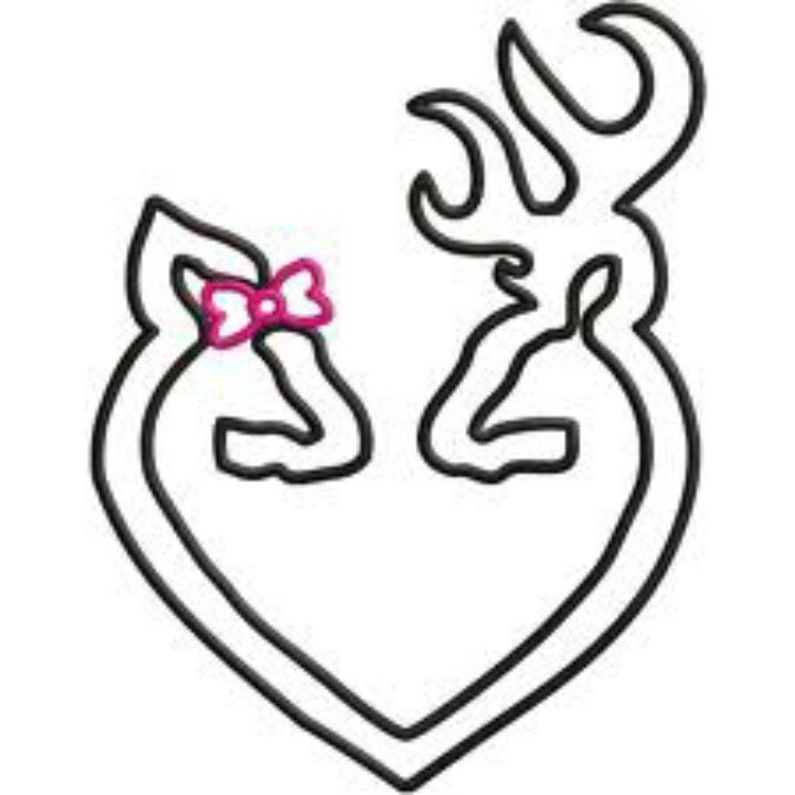 Drawn symbol browning Images best buckmark Browning on