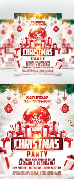 Drawn sykol christmas By Party  Party Flyer