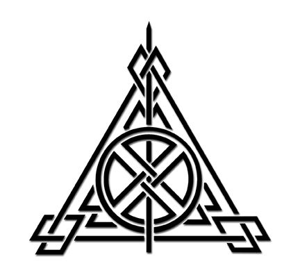 Drawn symbol deathly hallows Ideas on of Deathly 20+