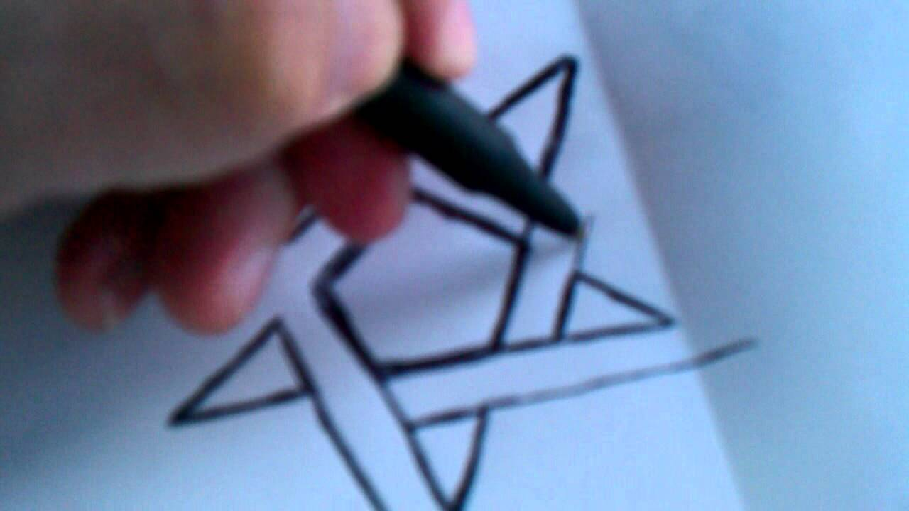 Drawn symbol drawing Pentacle YouTube Draw Symbol Draw