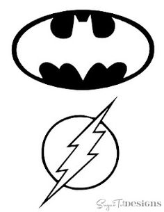Drawn symbol easy And Superman Logos Cubs free