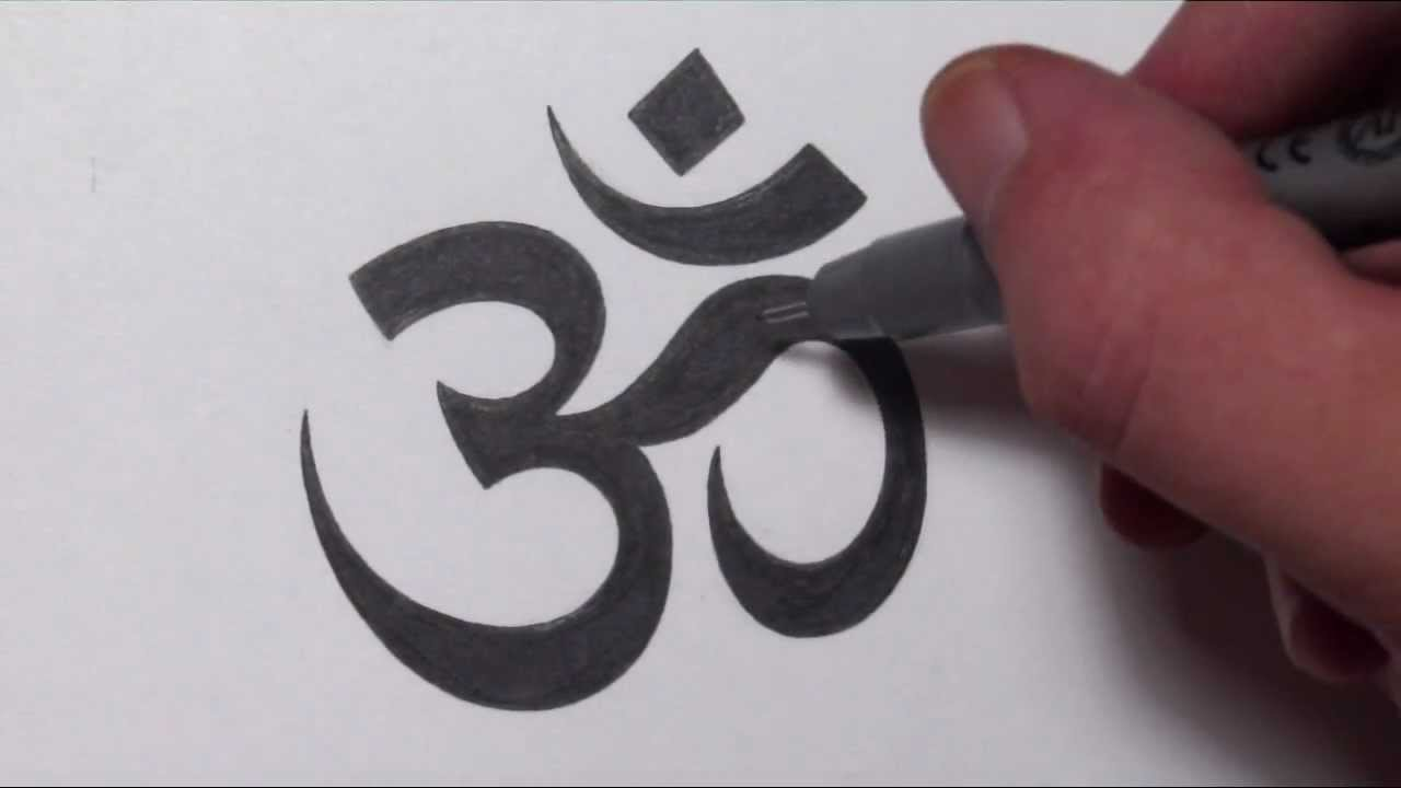 Drawn sign jamaican How Symbol  Om To