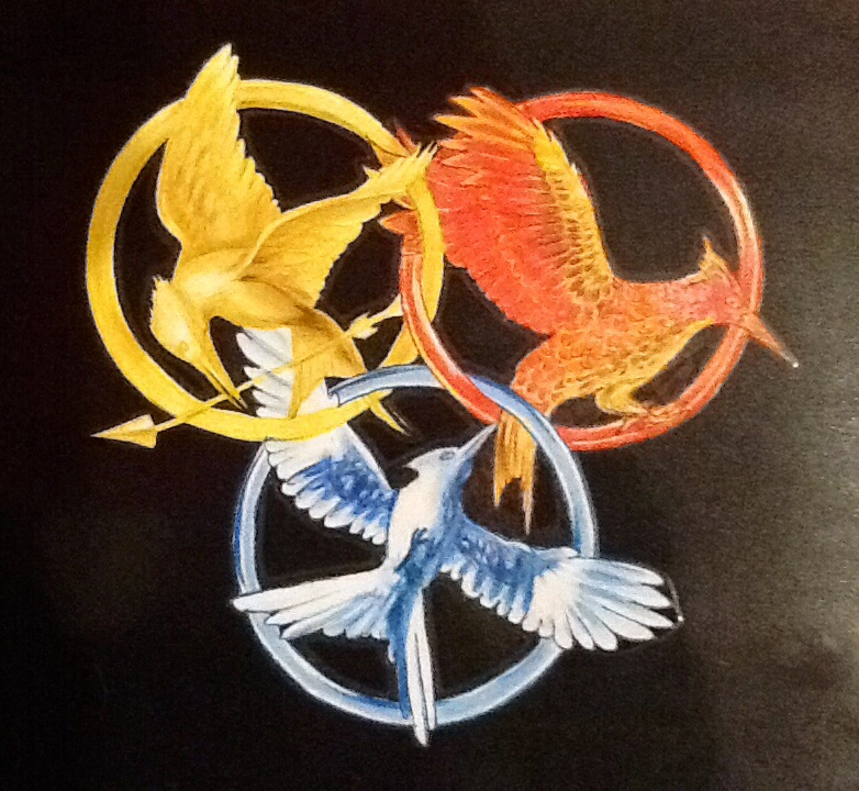 Drawn sykol hunger games By games by symbols games
