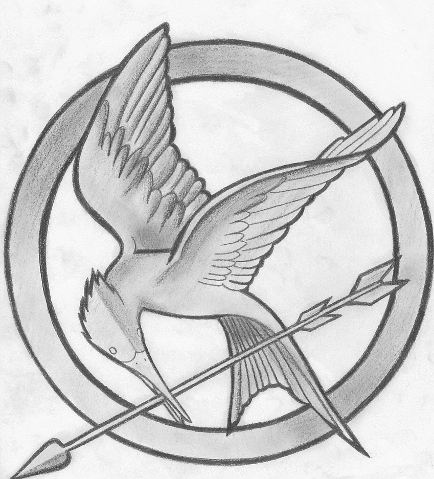 Drawn sykol hunger games Games The Symbol Hunger on