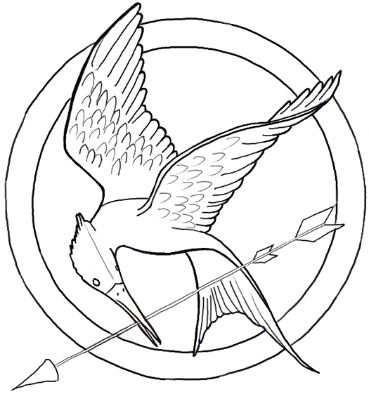 Drawn sykol hunger games The Logo the aka to