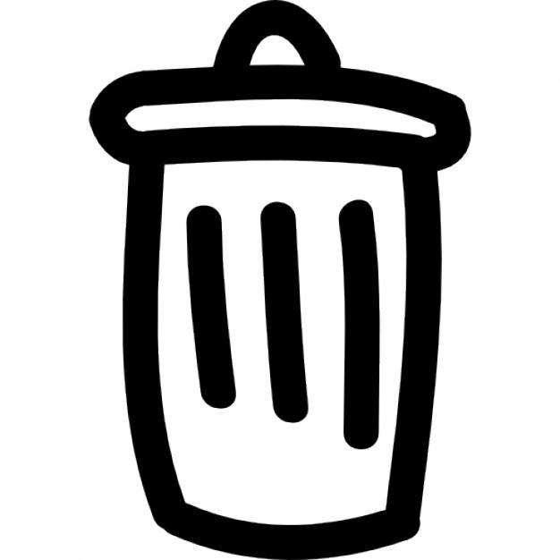 Drawn symbol icon Hand drawn can can Icon
