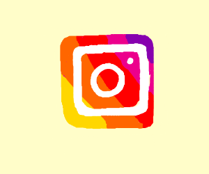Drawn symbol instagram Instagram Icon Marchewka) Kay Icon