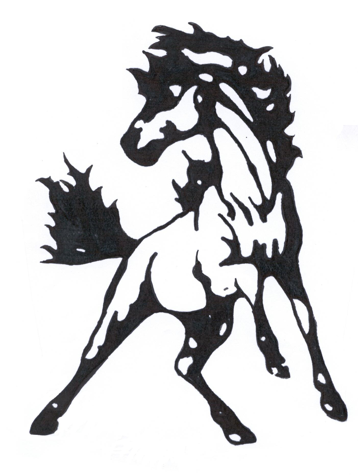 Drawn sykol mustang Mascot Mustang photo#18 Clipart clipart