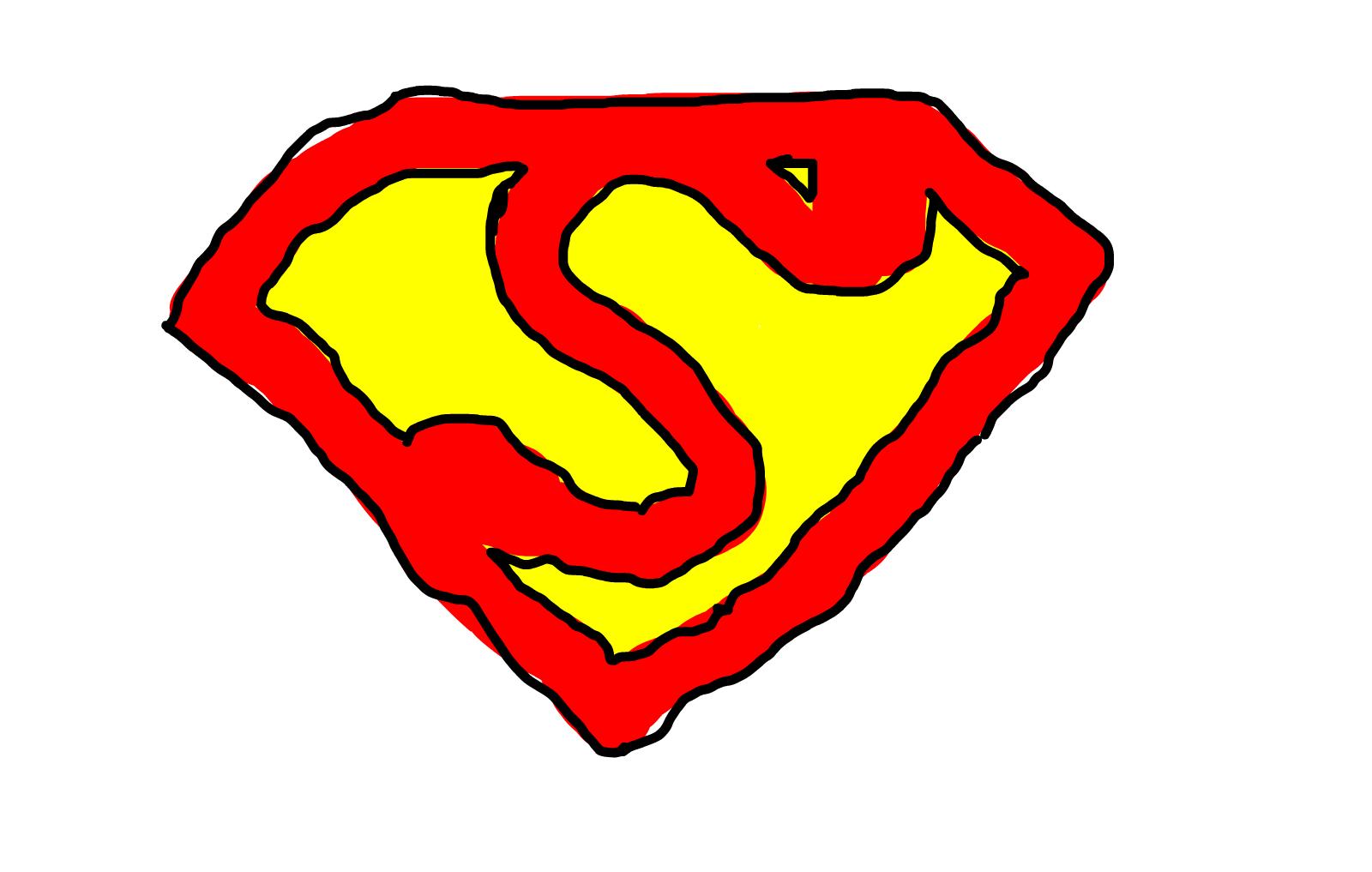 Drawn symbol superman » SketchPort Superman Superman »