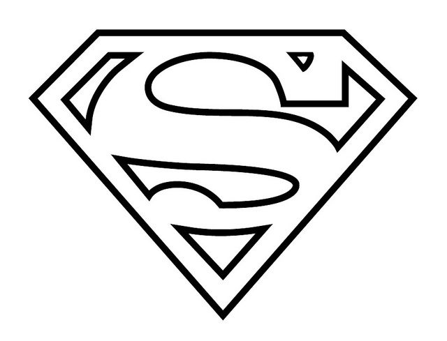 Drawn symbol superman Pesquisa on best Pinterest logo