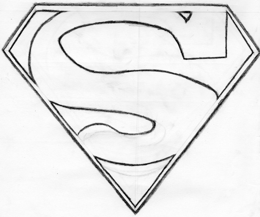 Drawn symbol superman By droy Superman on Symbol
